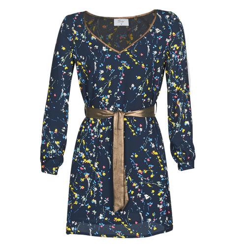 Oblačila Ženske Kratke obleke Betty London LIOR Modra
