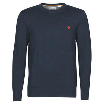 Oblačila Moški Puloverji Timberland WILLIAMS RIVER CREW Modra