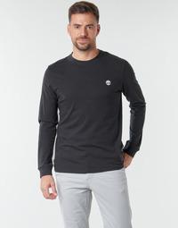 Oblačila Moški Majice z dolgimi rokavi Timberland LS Dunstan River Tee Črna