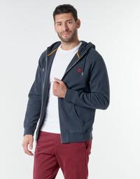 Oblačila Moški Puloverji Timberland E-R Basic Reg Zip Modra