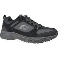 Čevlji  Moški Pohodništvo Skechers Oak Canyon Črna, Grafitna