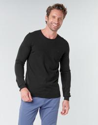 Oblačila Moški Puloverji Teddy Smith POKI Črna