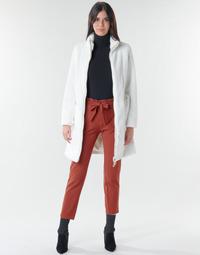 Oblačila Ženske Plašči Marciano MARBREE FUR COAT Krem