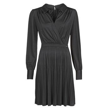 Oblačila Ženske Kratke obleke Marciano PLAYA DRESS Črna