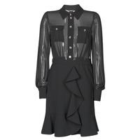 Oblačila Ženske Kratke obleke Marciano CAROL SHORT DRESS Črna