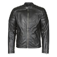 Oblačila Moški Usnjene jakne & Sintetične jakne Schott LC FUEL Črna