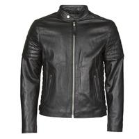 Oblačila Moški Usnjene jakne & Sintetične jakne Schott LCJOE Črna