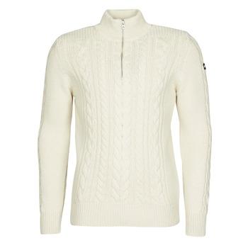 Oblačila Moški Puloverji Schott PL BRUCE2 Kremno bela