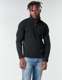 Oblačila Moški Puloverji Schott PLECORAGE2 Črna