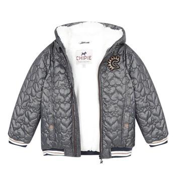 Oblačila Deklice Jakne Chipie 8R41014-46 Siva