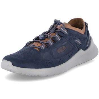 Čevlji  Moški Čevlji Derby Keen Highland Modra