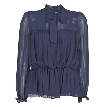 Oblačila Ženske Topi & Bluze Naf Naf HAZUL C1 Modra