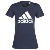 Oblačila Ženske Majice s kratkimi rokavi adidas Performance W BOS CO TEE Modra