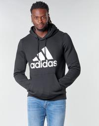 Oblačila Moški Puloverji adidas Performance MH BOS PO FL Črna