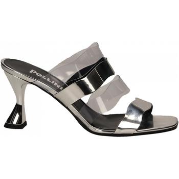 Čevlji  Ženske Sandali & Odprti čevlji Pollini Silver POLLINI SE54 argento