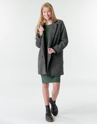 Oblačila Ženske Plašči Petrol Industries JACKET WOOL Siva