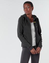 Oblačila Ženske Športne jope in jakne Puma METALLIC FZ HOODY TR Črna / Zlata