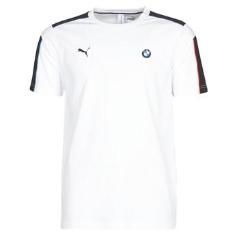Oblačila Moški Majice s kratkimi rokavi Puma BMW MMS MS T7 TEE Bela
