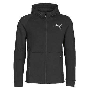 Oblačila Moški Športne jope in jakne Puma EVOSTRIPE FZ HOODY Črna