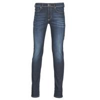 Oblačila Moški Jeans skinny Diesel SLEENKER Modra / 009ey