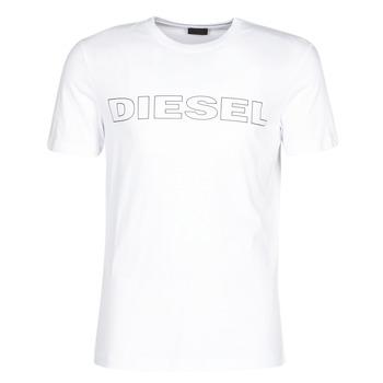 Oblačila Moški Majice s kratkimi rokavi Diesel JAKE Bela