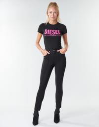 Oblačila Ženske Hlače s 5 žepi Diesel P-CUPERY Noir9xx