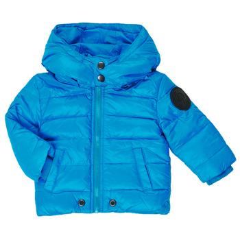 Oblačila Dečki Puhovke Diesel JSMITHYAWH Modra
