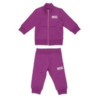 Oblačila Dečki Otroški kompleti Diesel SONNY Rožnata