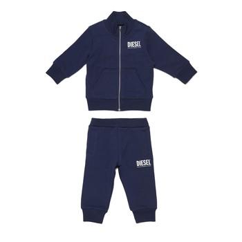 Oblačila Dečki Otroški kompleti Diesel SONNY Modra