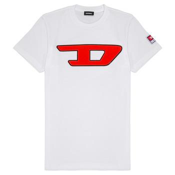 Oblačila Otroci Majice s kratkimi rokavi Diesel TJUSTDIVISION Bela