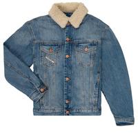 Oblačila Dečki Jeans jakne Diesel JRESKY Modra