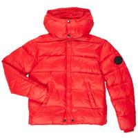 Oblačila Dečki Puhovke Diesel JSMITHYAWH Rdeča