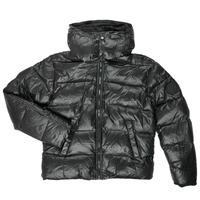 Oblačila Dečki Puhovke Diesel JSMITHYAWH Črna