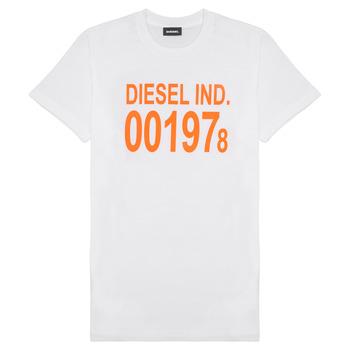 Oblačila Otroci Majice s kratkimi rokavi Diesel TDIEGO1978 Bela