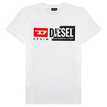 Oblačila Otroci Majice s kratkimi rokavi Diesel TDIEGOCUTY Bela