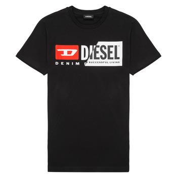 Oblačila Otroci Majice s kratkimi rokavi Diesel TDIEGOCUTY Črna