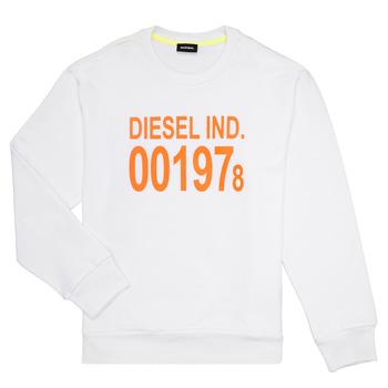 Oblačila Otroci Puloverji Diesel SGIRKJ3 Bela