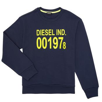Oblačila Otroci Puloverji Diesel SGIRKJ3 Modra