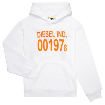 Oblačila Otroci Puloverji Diesel SGIRKHOOD Bela