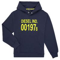 Oblačila Otroci Puloverji Diesel SGIRKHOOD Modra