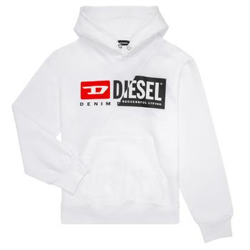 Oblačila Otroci Puloverji Diesel SGIRKHOODCUTY Bela