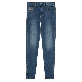 Oblačila Deklice Kavbojke slim Diesel D-SLANDY HIGH Modra
