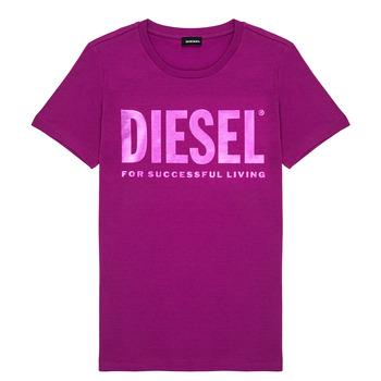 Oblačila Deklice Majice s kratkimi rokavi Diesel TSILYWX Rožnata