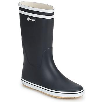 Čevlji  Ženske škornji za dež  Aigle MALOUINE Bela