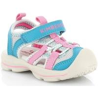 Čevlji  Deklice Sandali & Odprti čevlji Kimberfeel SHIKI Turquoise