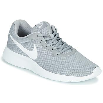 Čevlji  Moški Nizke superge Nike TANJUN Siva / Bela