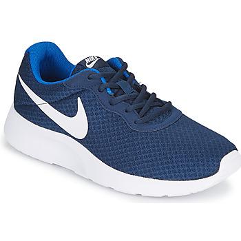 Čevlji  Moški Nizke superge Nike TANJUN Modra / Bela