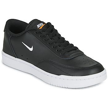 Čevlji  Ženske Nizke superge Nike COURT VINTAGE Črna / Bela