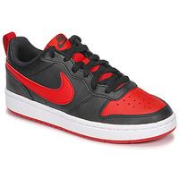 Čevlji  Otroci Nizke superge Nike COURT BOROUGH LOW 2 GS Črna / Rdeča