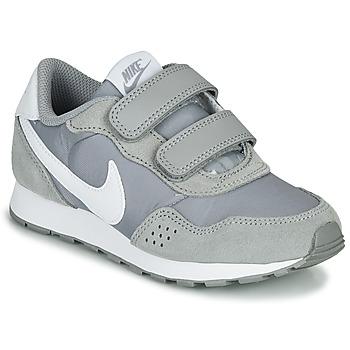 Čevlji  Otroci Nizke superge Nike MD VALIANT PS Siva / Bela